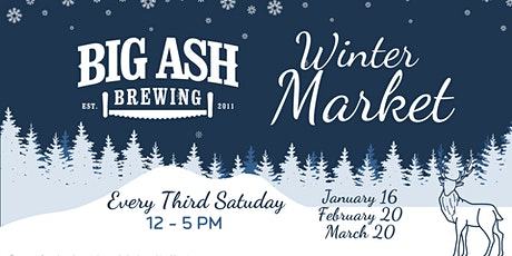 Winter Market @Big Ash Brewing! Shop Local! Shop Handmade! Shop Cincy! tickets
