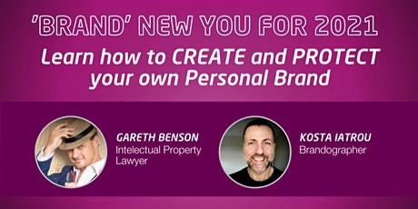 Brand New You 2021: Learn How to Create and Protect your own Personal Brand tickets