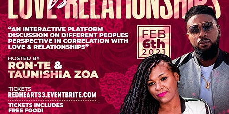 Red Hearts Presents... Love vs. Relationships tickets