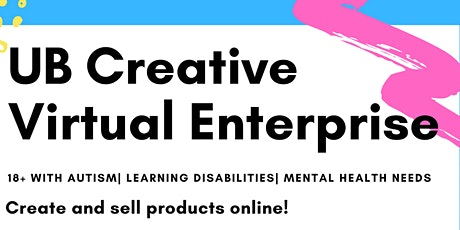 UB Creative- vulnerable adults virtual creative sessions tickets