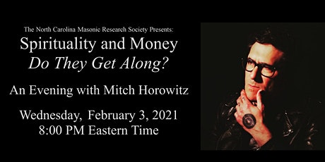 Spirituality and Money, Do They Get Along?: An Evening with Mitch Horowitz tickets