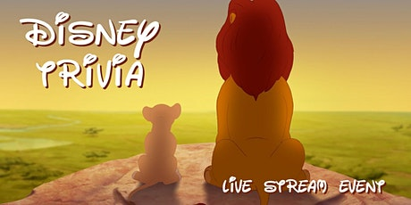Disney Trivia (Streamed) - $100s in Prizes & Costume Contests! tickets