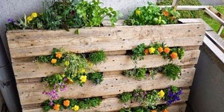 Online Recycling in the Garden  Workshop - 8 May 2021 tickets