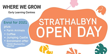 Where We Grow Strathalbyn Open Day tickets