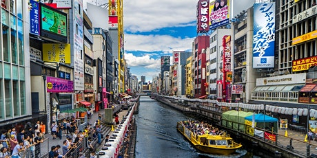 Japan - Virtual Dotonbori River Cruise & Eating Local Food in Osaka tickets