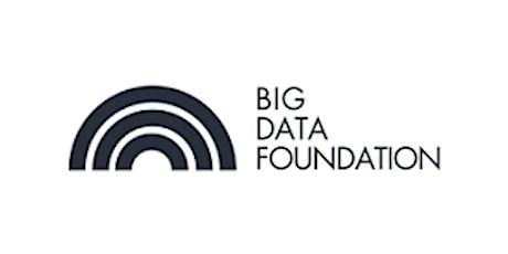 CCC-Big Data Foundation 2 Days Training in Calgary tickets