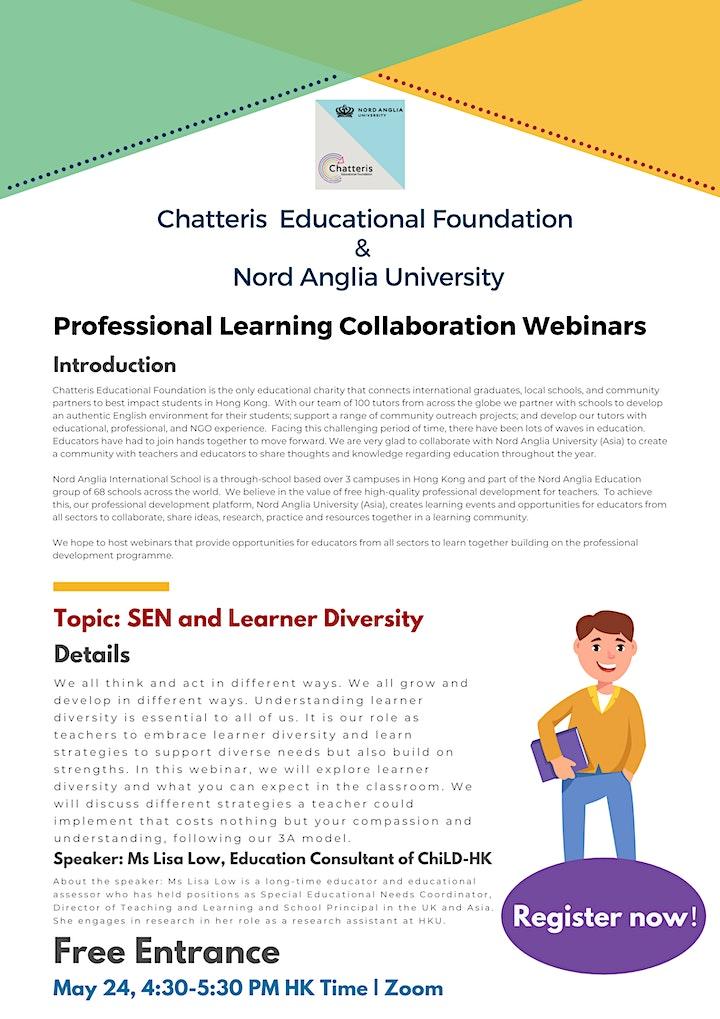 SEN and Learner Diversity image
