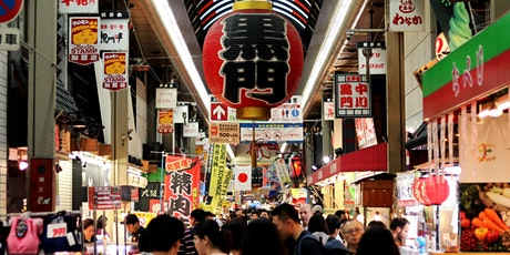 Japan - Virtual Osaka's Famous Market & Arcade Walking Tour tickets