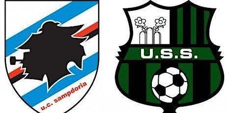 LIVE@!. Sampdoria - Sassuolo in. Dirett 23 Dicembre 2020 biglietti