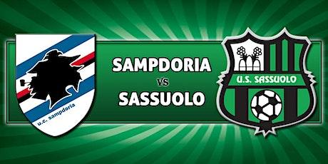 STREAMS@!. Sampdoria - Sassuolo in. Dirett Live 23 Dicembre 2020 biglietti