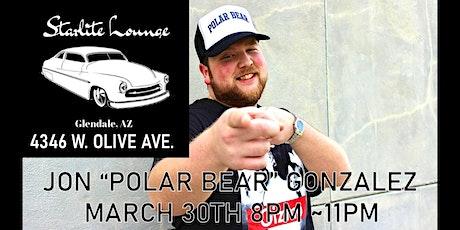 Polar Bear Comedy - Jon Gonzalez at Starlite Lounge 21+ early show tickets