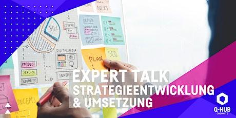 Q-HUB Expert Talk: Strategieentwicklung und Umsetzung Tickets