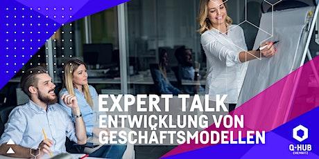 Q-HUB Expert Talk: Neue Märkte - Entwicklung von Geschäftsmodellen Tickets