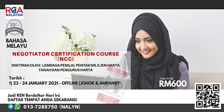 Negotiator Certification Course (NCC) tickets