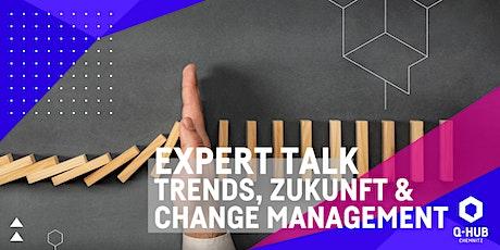 Q-HUB Expert Talk: Trends, Zukunft und Change Management Tickets