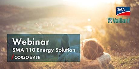 SMA 110 Energy Solution - Corso tecnico Base SMA – Vaillant biglietti