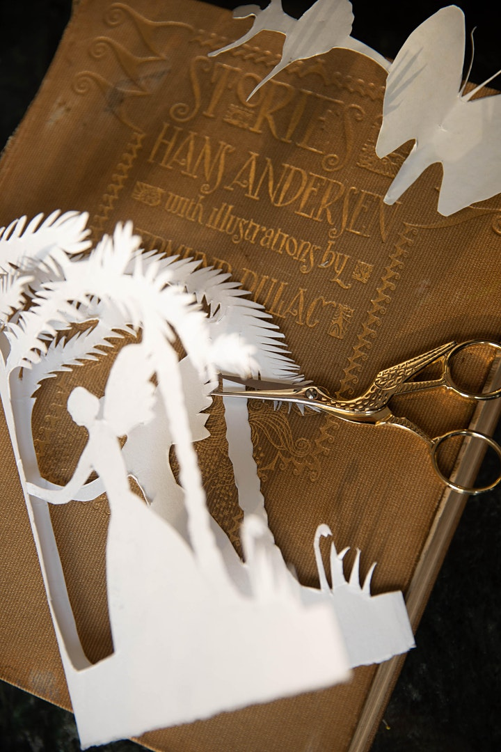 Hans Christian Andersen PAPER, PEN & POETRY image