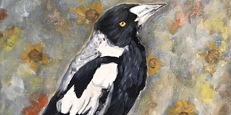 Acrylic Painting - Paint a BIRD of your choice (Paint and Sip) tickets