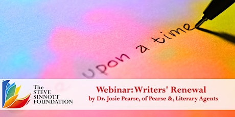 Writers' Renewal - Life Long Learning Webinar Series tickets