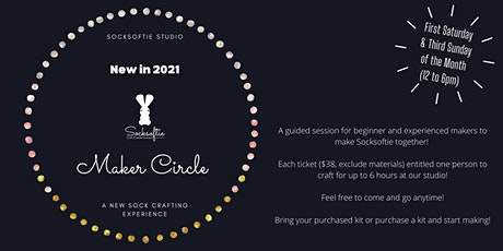 Socksoftie Makers Circle 2.1 (Select from Basic to Advanced) tickets