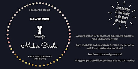 Socksoftie Makers Circle 2.2 (Select from Basic to Advanced) tickets