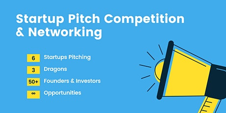 StartupPitch Competition & Networking with Founders and Angel Investors tickets