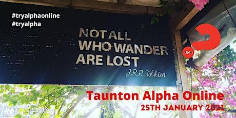 Taunton Alpha Online 2021 tickets
