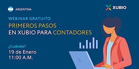 Webinar Arg: Primeros pasos en Xubio -  Contadores tickets