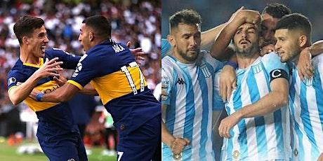 TV/VIVO.-Boca Juniors v Racing Club E.n Viv y E.n Directo ver Partido onli entradas