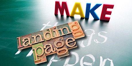 Landing Page Builder - Online Workshop biglietti