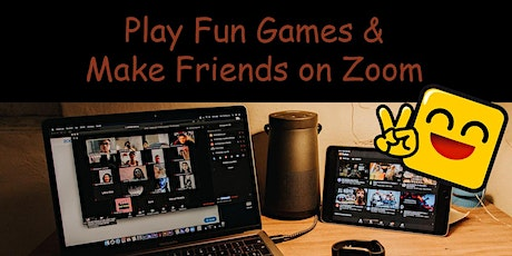 Sunday Play Fun Games and Make Friends on Zoom tickets