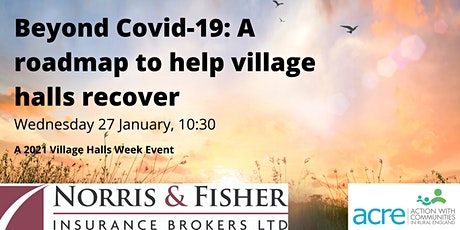 Beyond Covid-19: A roadmap to help village halls recover tickets