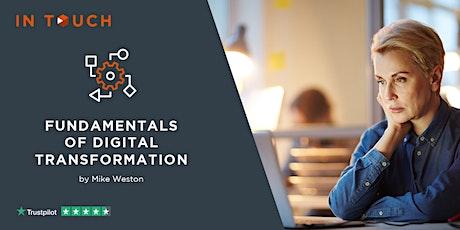 Fundamentals of Digital Transformation tickets