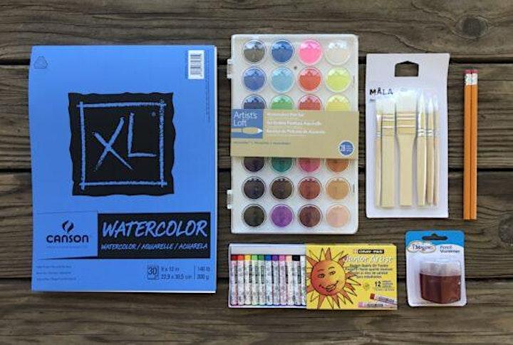 Standard DIY Art Kit image