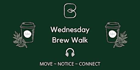 Brew Walk - Weds lunchtimes ONLINE tickets