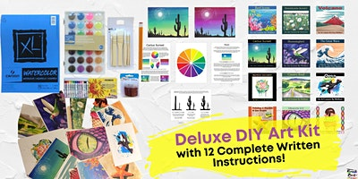 Deluxe DIY Art Kit