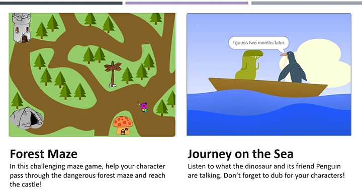 Scratch Programming -  Junior Course - 4 Lessons image