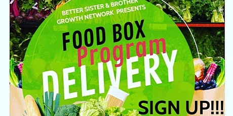FREE FOOD BOX PROGRAM DELIVERY CHICAGO ILLINOIS SURROUNDING AREAS tickets