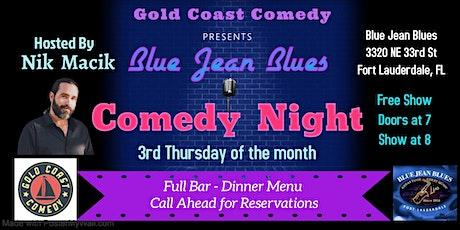 Blue Jean Blues Comedy Show tickets