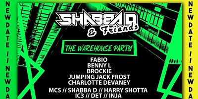 Shabba D & Friends Poster