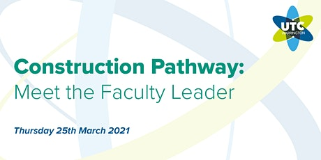UTC Warrington: Meet the Construction Faculty Leader tickets