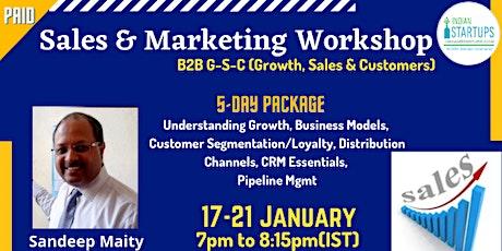 Sales & Marketing Workshop (B2B) tickets