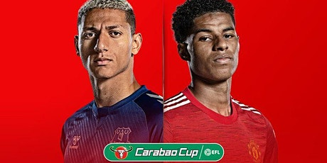 TOTAL SPORTEK]...!! MANCHESTER UNITED V EVERTON LIVE ON CARABAO CUP 23 DEC tickets