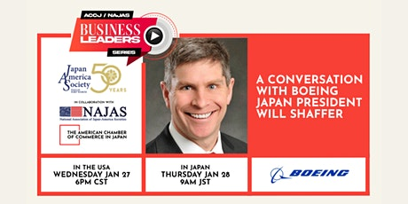 ACCJ/NAJAS Business Leaders Series: A Conversation with Boeing Japan tickets