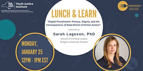 YJI Lunch & Learn Webinar with Dr. Sarah Lageson tickets