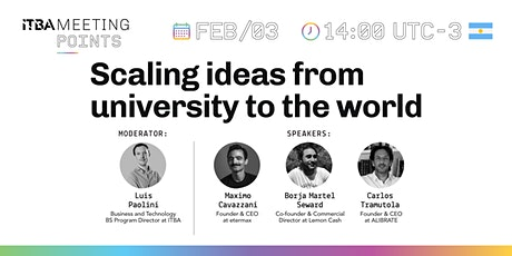 Scaling ideas from university to the world tickets