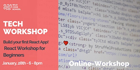 Tech Workshop | Build your first Web App  |  React tickets