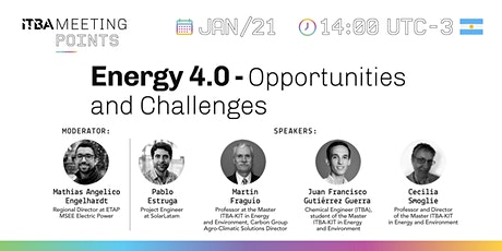 Energy 4.0 - Opportunities and Challenges tickets