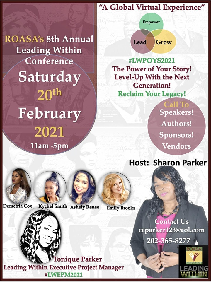 ROASA's 8th Annual Leading Within Virtual Conference #LWWAS2021 image