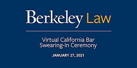 Virtual California Bar Swearing-In Ceremony tickets